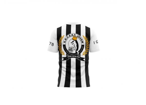 Camisa Escola de Samba Torcida Jovem 1978