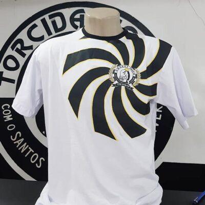 Camiseta Algodão Pavilhão Torcida Jovem Santos FC